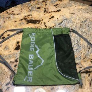 Eddie Bauer green back pack